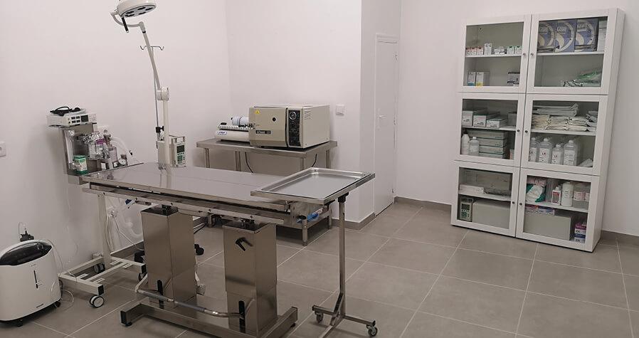 instalaciones Quirófano y prequirófano